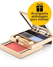 Presente Natura Aquarela - Estojo de Maquiagem + Embalagem Desmontada