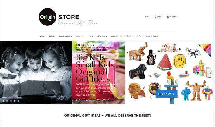 OriiginStore – ORIGINAL BIG KIDS, SMALL KIDS GIFT IDEAS – WE ALL DESERVE THE BEST!