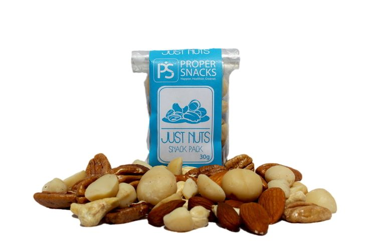 Proper Snacks Just Nuts Snack Pack Happier Healthier Greener snacks delivered to your door. Great for a lunchbox or work desk