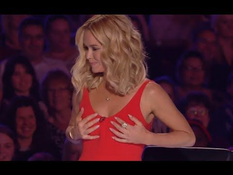 Christian Lee took Amanda's bra!? | Britain's Got Talent 2016 | Week 7 Auditions (Full Version) << That was hilarious