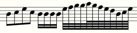 I VALORI MUSICALI: Con il pentagramma si è riusciti a trovare il modo per definire l'altezza di un suono ma non la sua durata.  I valori musicali sono quei simboli grafici che si usano per rappresentare un suono sul pentagramma (che sia una nota o un silenzio, attenzione!) e servono a dargli un valore di tempo (in pratica ci dicono per quanto tempo dobbiamo far suonare una nota.....o suonare il silenzio!).   Occupiamoci ora de:  il quanto far suonare una nota... (continua)
