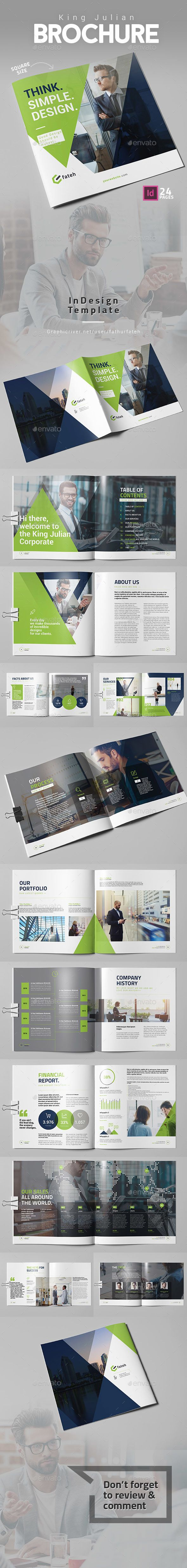King Julian Brochure - Square - Corporate Brochures | Download: https://graphicriver.net/item/king-julian-brochure-square/19181291?ref=sinzo
