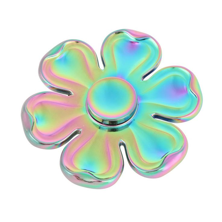 Zinc Alloy Printed Flower Fidget spinner Retro Camouflage Hand Spinner Steel Bearing For Autism ADHD Anxiety Stress Toy #Affiliate