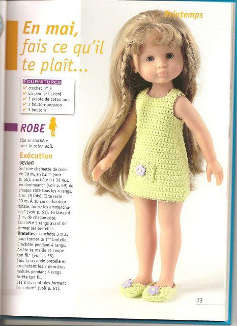 Album picasa avec des habits de poupées