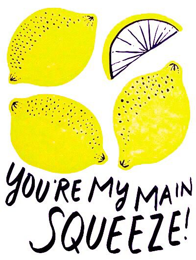 Love Quote - You're My Main Squeeze {Oh Happy Day}