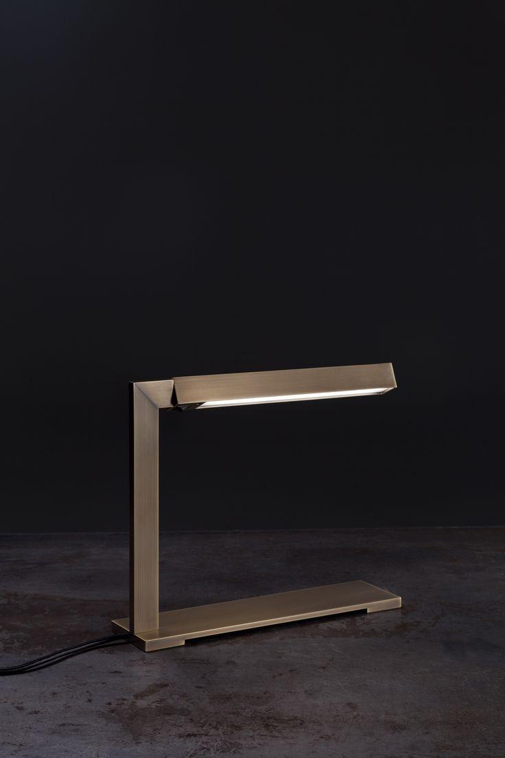 Bar Desk Lamp in Golden Bronze finish