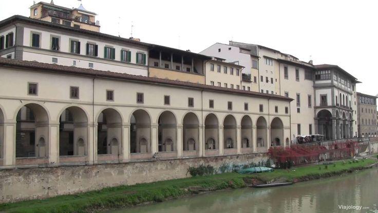 Corredor Vasariano de Florencia, un pasadizo que conecta el Palacio Pitti y el Palacio Vecchio. #Viajology