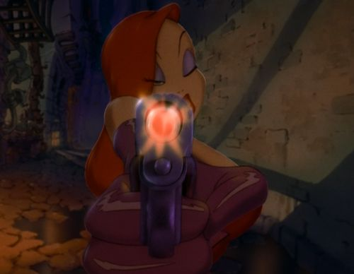 don't mess with Jessica Rabbit