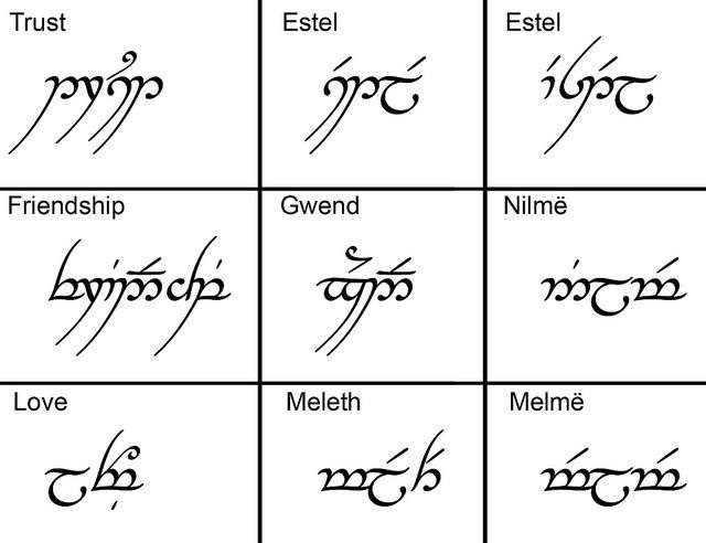 lord of the rings elvish friend - Google Search