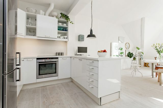 White swedish loft. Erik olsson