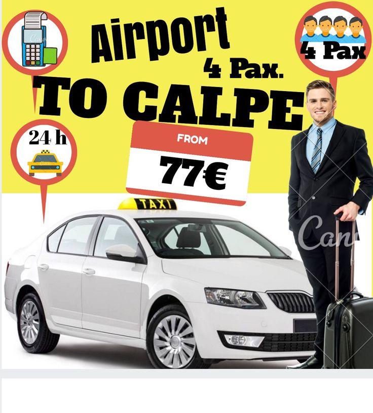 ALICANTE AIRPORT TO CALPE FOR 4 PAX. www.alicante-airporttransfers.com/en/