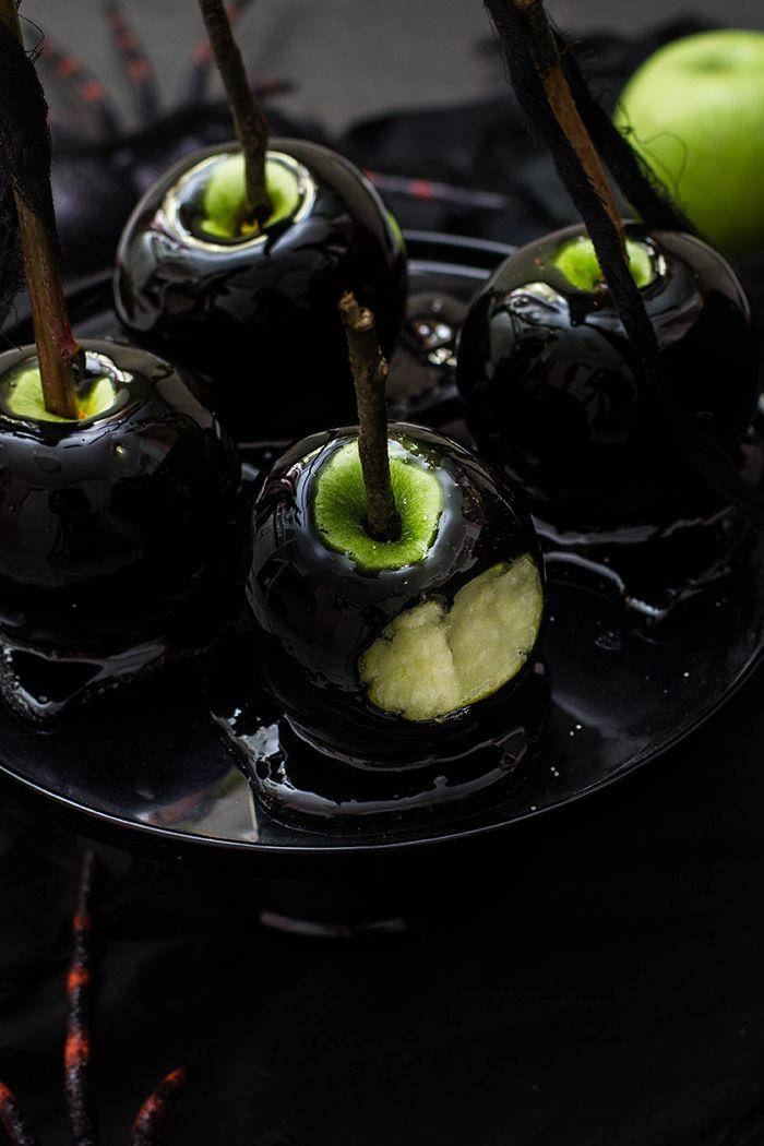 Kandierte Äpfel im Halloween Style - KüchenDeern