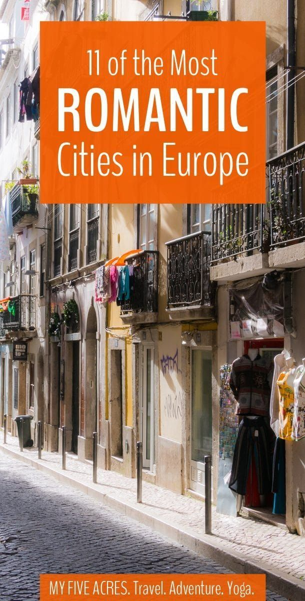 We love all the continents equally, but when it comes to romance, Europe always wins. The most romantic cities in Europe are guaranteed to make your heart pound, whether you're looking for love or want to treat your sweetie to an intimate city break. #travel #europe #cities