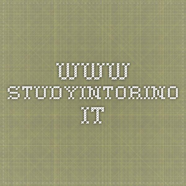 VIDEO www.studyintorino.it