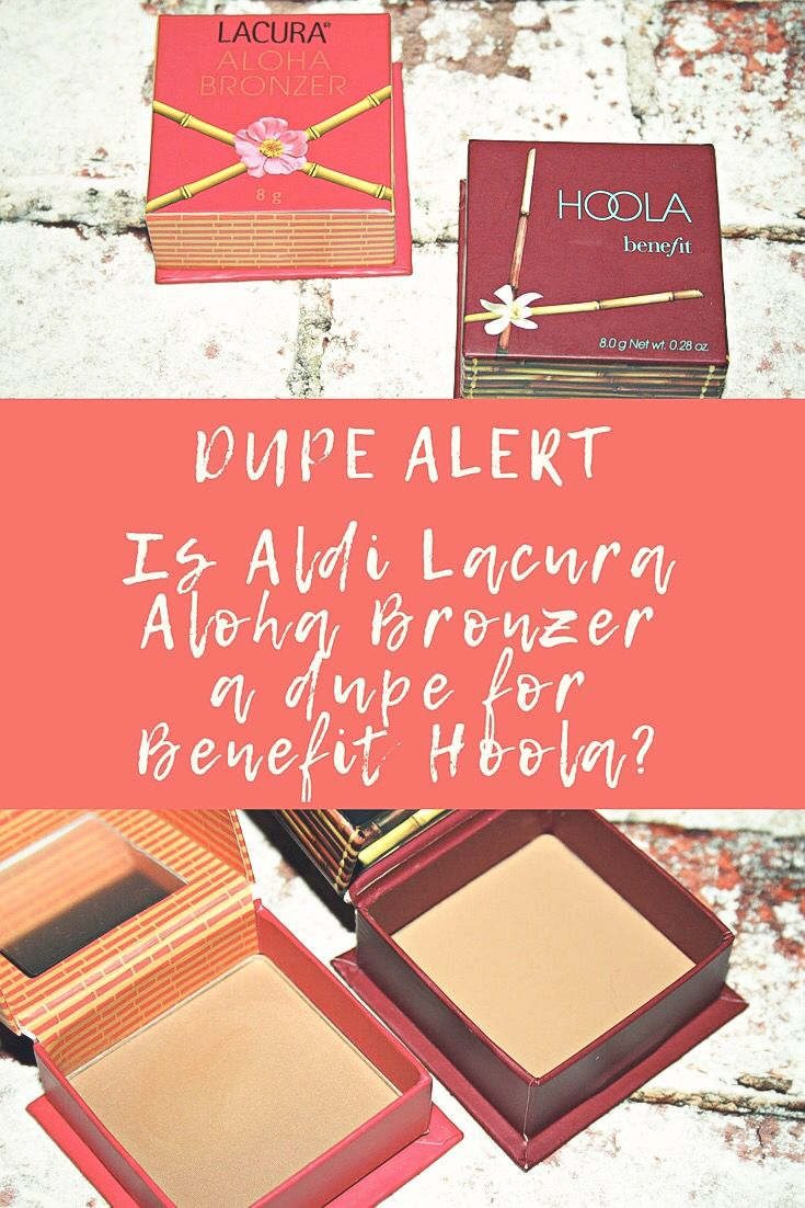 e37434678f2 Is the Aloha Bronzer from Aldi really a Benefit Cosmetics Hoola Dupe?  #dupemakeup #