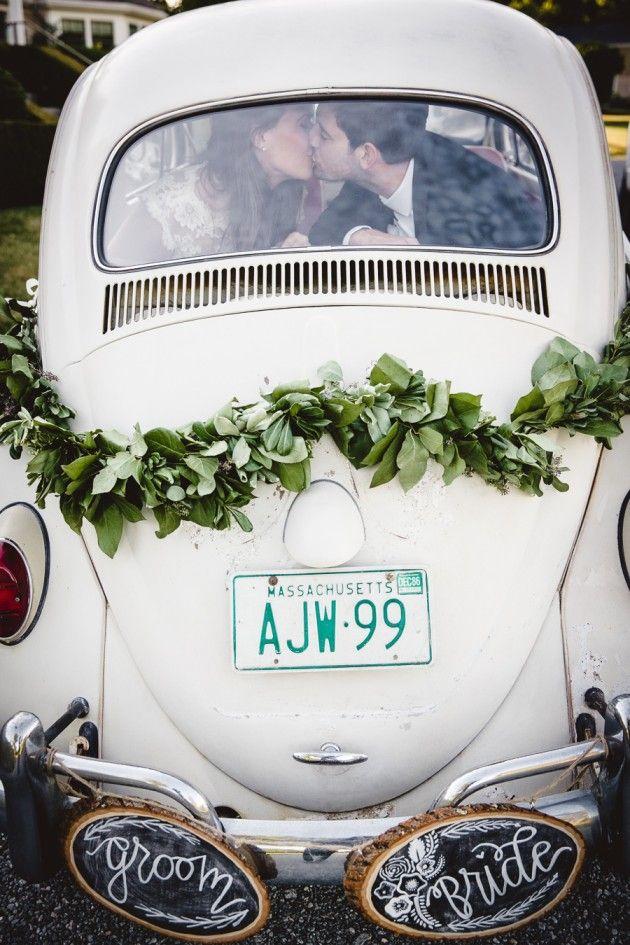 Käfer, Ente, Mini - kleine romantische Hochzeitsautos, wer keine Limousine oder Cabrio will.