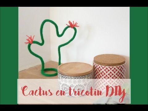 [BOX JOUR DE PLUIE] Le cactus en tricotin DIY - YouTube