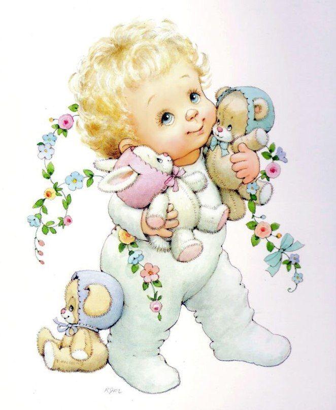 Картинки малыша для открыток