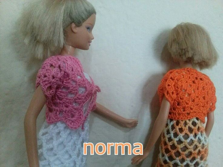 bolerito para Barbie con 2 exagonos