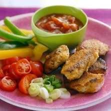 Chicken taco nuggets – texmexpanerad kyckling