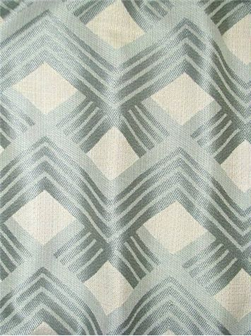 "Nowellkay Mystic - American Weavers - Made in U.S.A. transitional chevron satin jacquard fabric. Perfect for drapery fabric, upholstery fabric or top of the bed. Content; 54% rayon/ 46% cotton. Repeat; 6"". 57"" wide."
