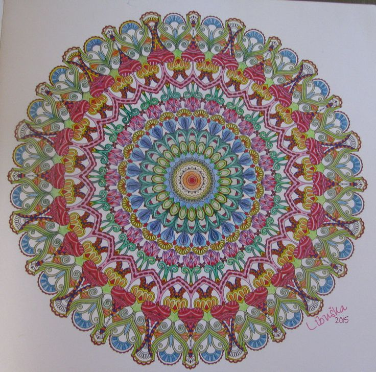 Het Enige Echte Mandala Kleurboek Deel 1 Mijn Allereerste Kleurplaat