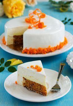 """Торт морковный """"Беатрис"""".. - Люблю готовить."""