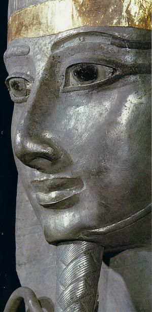 Pharaoh Psusennes I. In 1939, archaeologist, Pierre Montet, discovered the tomb of Pharaoh Psusennes (No.3 or NRT III) His entire sarcophagus was made of pure silver, the only one ever discovered.
