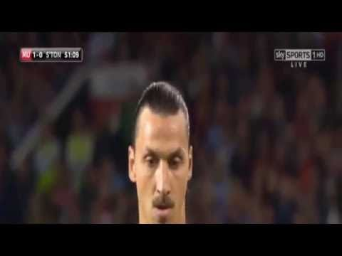 MU vs Southampton 2 0 all zlatan goal