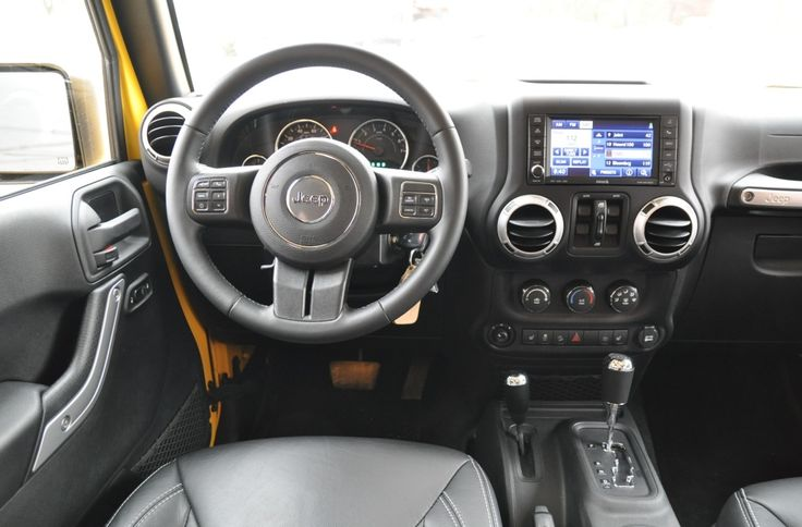 2015 Jeep Wrangler 4 Door Interior