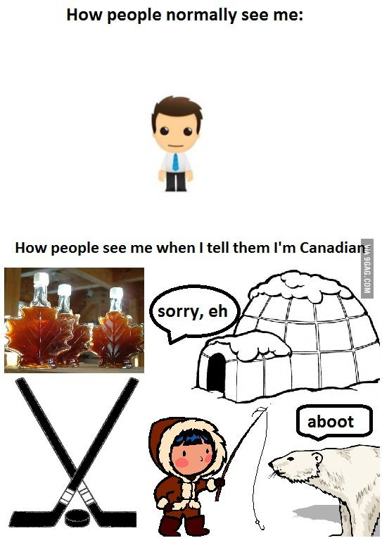 45 best Canadian stereotypes images on Pinterest | Funny ...
