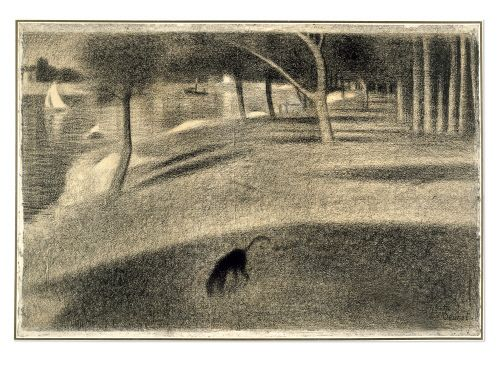Georges Seurat - I always liked his subtle conté drawings better than his more well known paintings