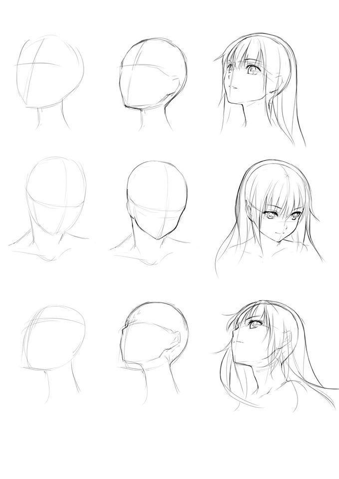 Learn To Draw Manga Manga Drawings Art Sketches