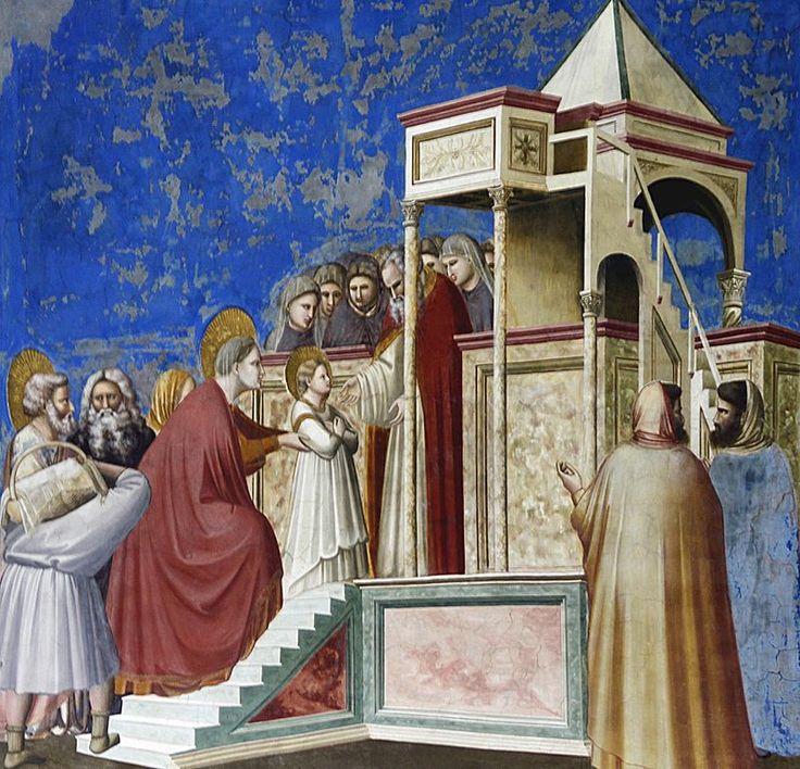 Presentación de la Virgen en el Templo (Giotto), c. 1303-1306.1
