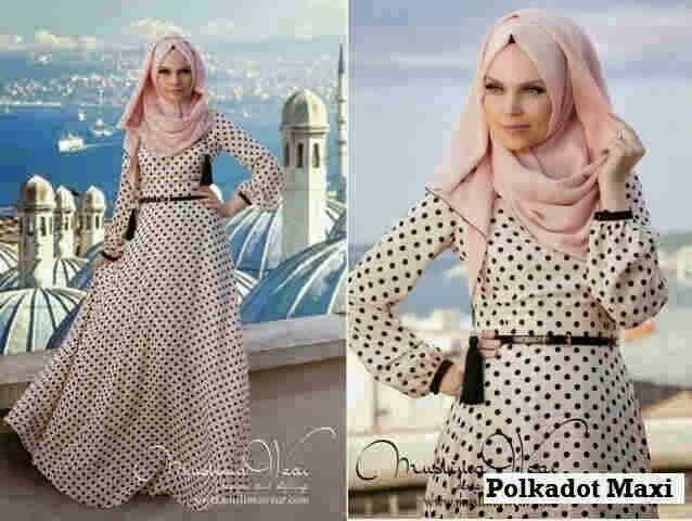 baju muslim POLKADOT MAXI, bahan jersey Harga 85k www.ramailancar.com www.facebook.com/tokobajurajutmurah 0857 2212 6318