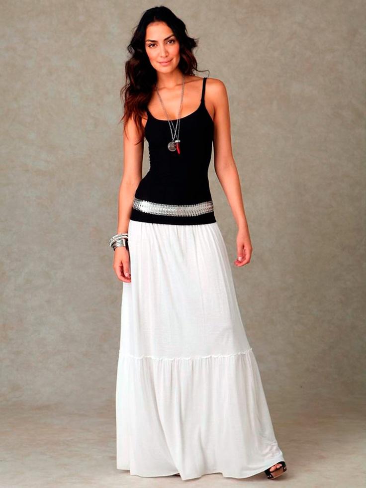 длинные юбки макси 2012 фото, юбка в пол