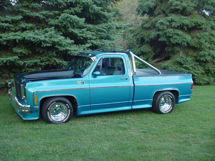 78 Chevy Truck Deluxe Cool Styles TruckitUSA Chevy