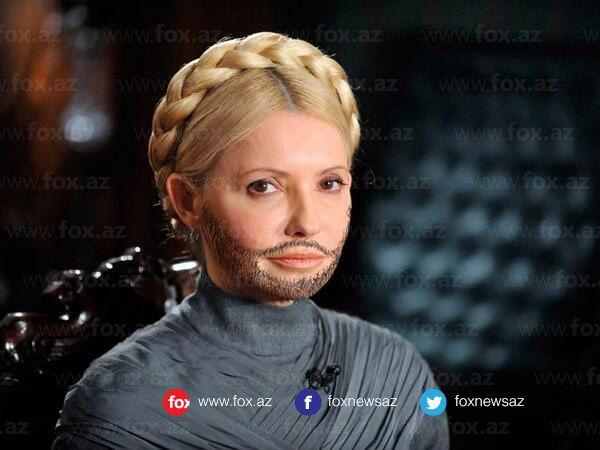 Azərbaycana 1 xal verib, Ermənistana 12 xal verən Ukraynanın qeyri-rəsmi lider Yuliya Timaşenko Conchittaya dəstək oldu ))