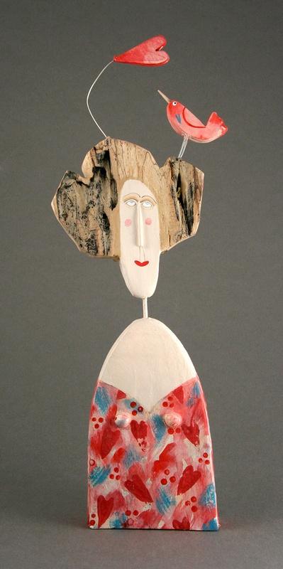 Bird Accessories - Love Bird by Lynn Muir