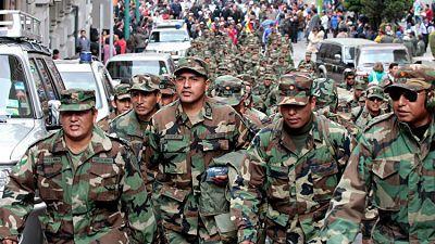 El único país latinoamericano que acepta personas transgénero en su Ejército La polémica se desató esta semana cuando el presidente de EE.UU., Donald Trump, anunció que las personas transgénerono podráningresar a las Fuerzas Armadas de su país, revocando así una medida de Barack Obama.