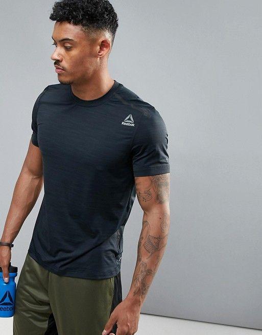 Reebok Training T-Shirt In Black BR9670