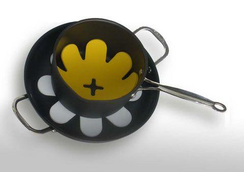 El separador de ollas es un producto diseñado para proteger el interior de las ollas en el momento de guardarlas apiladas una encima de otra. El paquete del separador de ollas MAX HOGAR trae tres presentaciones que se ajustan a los diferentes tamaños de sus ollas.
