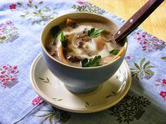 Makacska konyhája: Mezei csiperke leves
