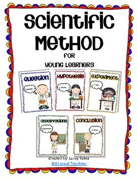 FREE TPT DOWNLOAD! Young students love to act like scientists!This pack includes posters, 1/4 page cards to sequence and a generic science experiment recording sheet