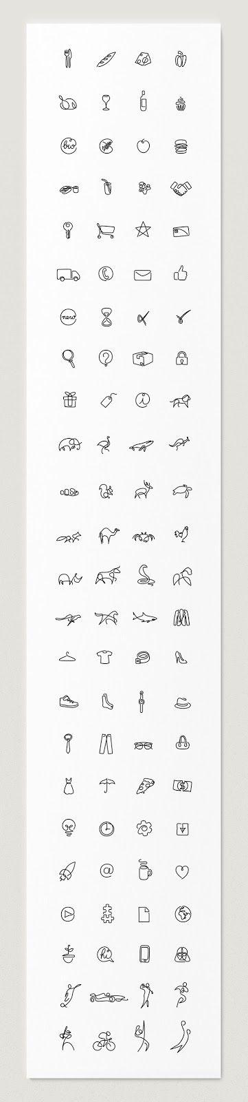 One Line Art, Seni Menggambar Sederhana namun Keren yang Patut untuk Dicoba - arid5ign   Tutorial Desain Grafis   Adobe Photoshop, Illustrator, CorelDraw