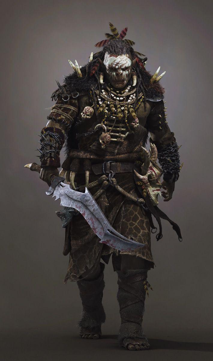 Cool Character Design, Orc. #characterdesign #conceptart [http://www.pinterest.com/alfredchong/]