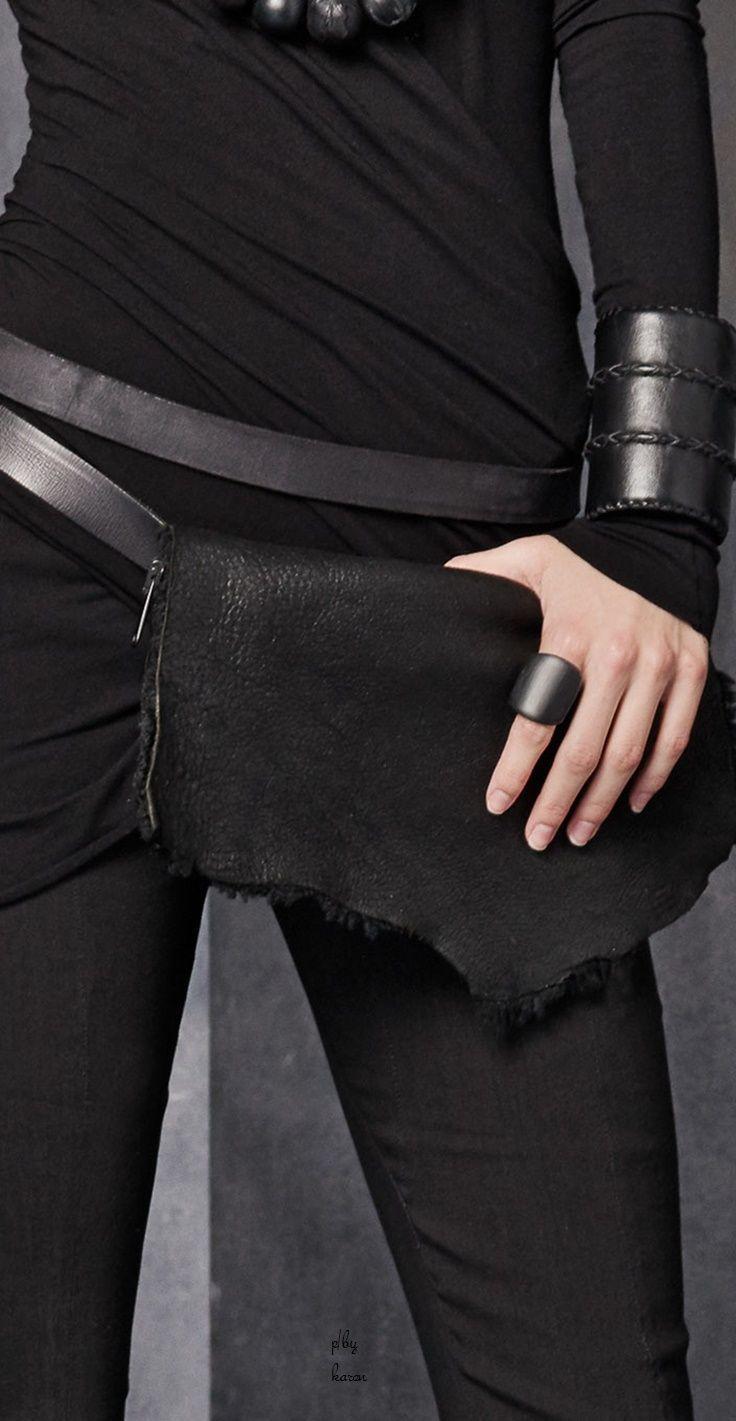 Visions of the Future: Donna Karan - Urban Zen - Accessory Belt Bag FW 2015