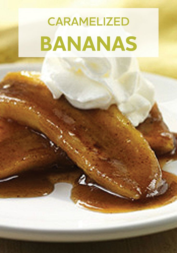 We love these Caramelized Bananas! It's an easy and delicious dessert recipe that's ready to enjoy in just 10 minutes.