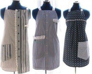 Как сшить фартук из мужской рубашки - Ярмарка Мастеров - ручная работа, handmade