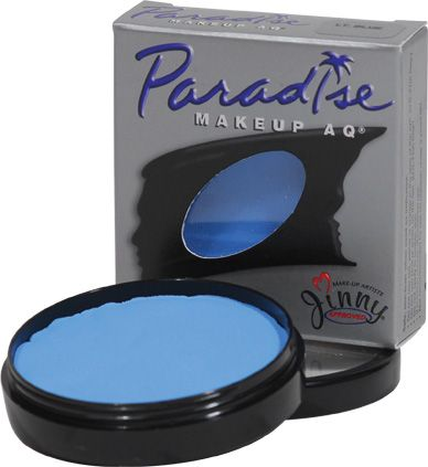 Paradise Makeup AQ Light Blue: Silly Farm Supplies Inc. Face Painting | Body Painting | Airbrush Supplies | Arty Brush Cakes | Rainbow Cakes | Clown Supplies